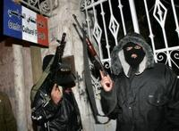 Mahomet the terrorist's peaceful followers, their balaclavas and their AK-47 assault rifles.