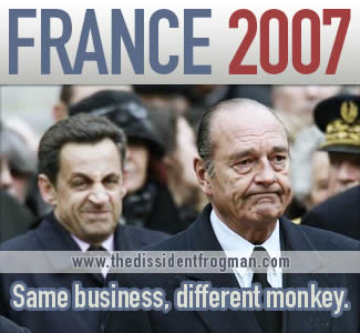 France 2007: same business, different monkey